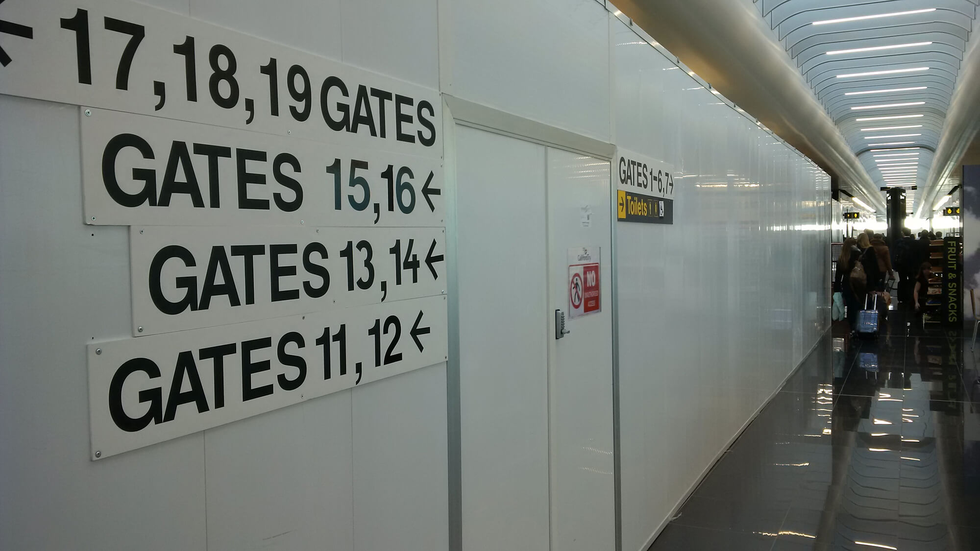 Hoardfast PVC Stanstead Airport