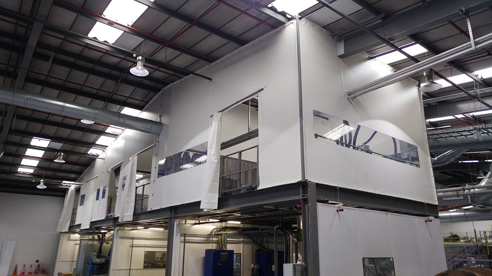 Manufacturing Plant Flexiwall