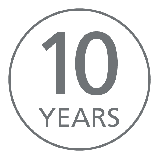10 year panel guarantee
