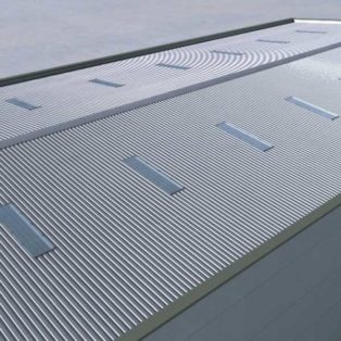 Reflective Roof Light Cover