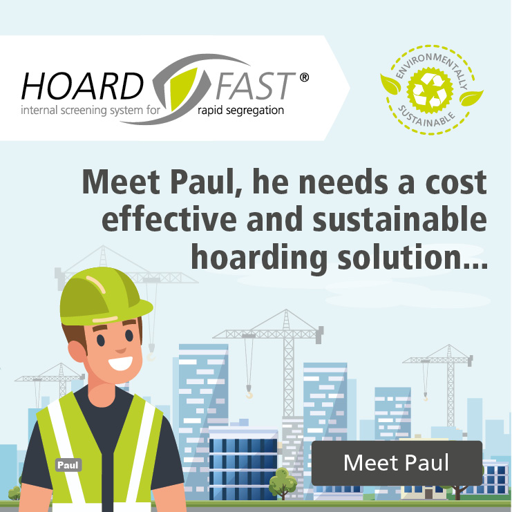 Hoardfast PVC: A sustainable product...