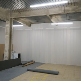 Gresham street internal fit out hoarding case study image