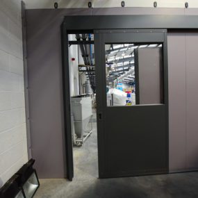 Spectra packaging internal flexiwall