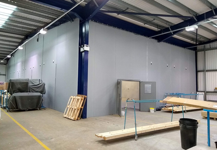 SCS Flexiwall to create photography studio