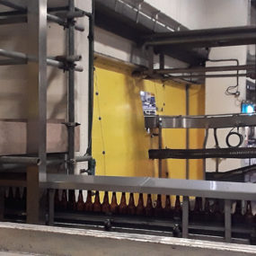 Marston's Brewery - Flexiscreen for dust screen