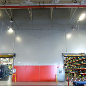 Vehicle Manufacturing Plant - Flexiwall for segregation