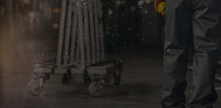 Controlling dust within manufacturing facilities