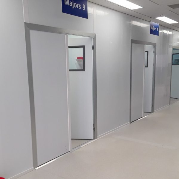 Lister Hospital temporary rooms