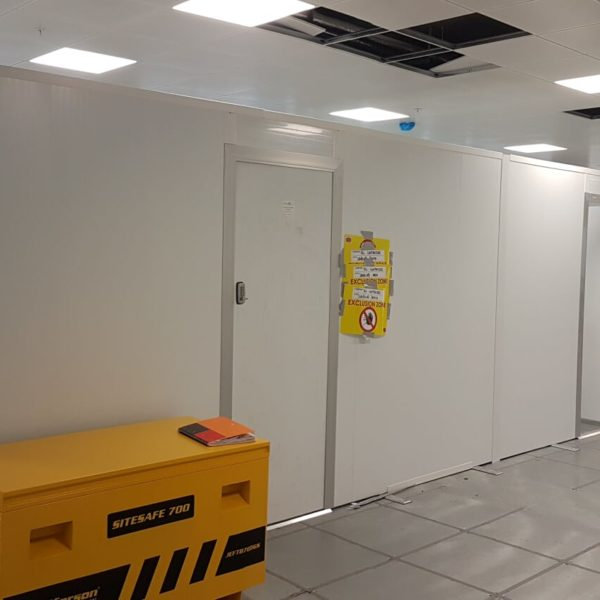 Temporary Rooms for Social Distancing on construction sites