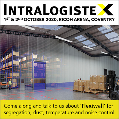 Intralogistex 2020, 1st and 2nd October 2020, Ricoh Arena, Coventry
