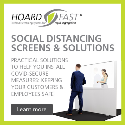 Social distancing screens and solutions for factories, warehouses, construction sites and more