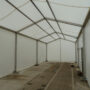 fabric sided temporary structure
